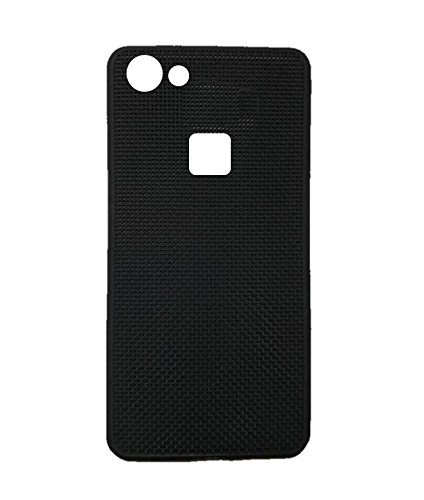best loved 3f9c5 98c4c VIVO V7 PLUS BLACK DOTTED SOFT RUBBER MOBILE BACK COVER: Amazon.in ...