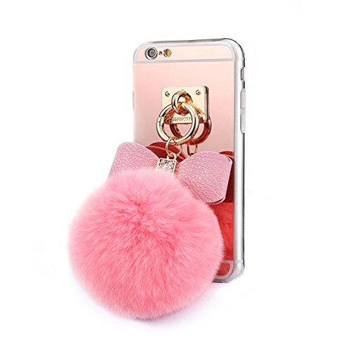Iphone 6 6s Case Generic Pom Pom Case Plush Fur Ball