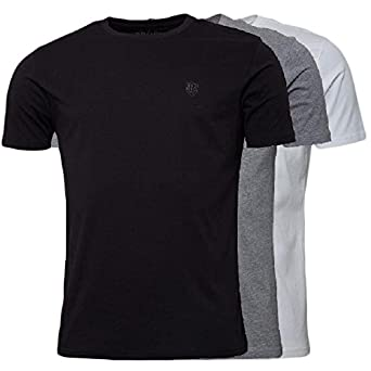 fc8cabe052f5 883 Police 3 Pack Mens Short Sleeve T-Shirt Three Pack Pure Cotton Regular  Fit