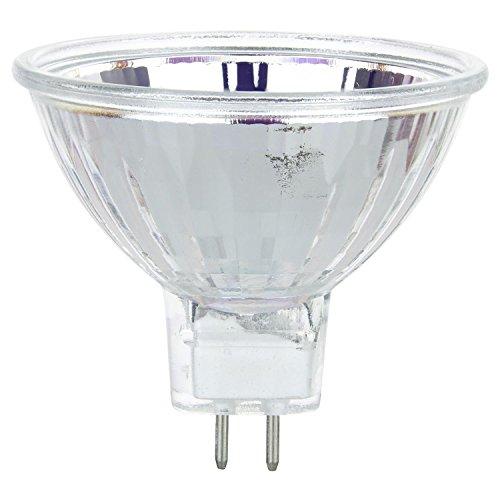 - Sunlite 50MR16/FL/12V/CD1 50-Watt Halogen MR16 GU5.3 Based Carded Mini Reflector Bulb