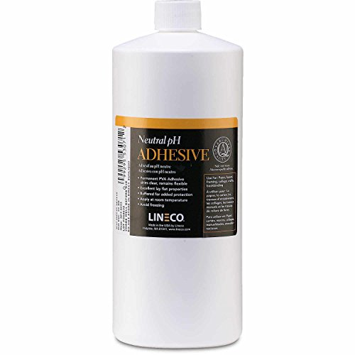 Lineco Neutral pH Polyvinyl Adhesive, 1 Quart (901-1032) made in New England