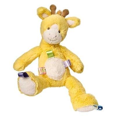 Taggies Oh So Softies Plush Giraffe, Yellow