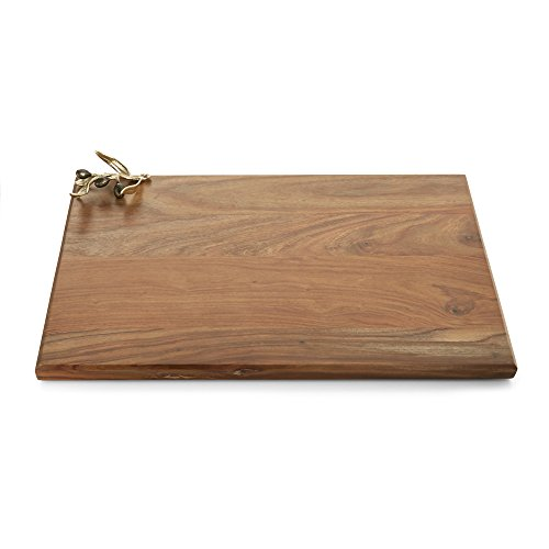ranch Gold Oversized Wood Serving Board (Olive Wood Branch)