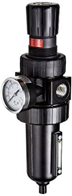Parker 07E Standard Series Compressed Air Filter/Regulator, Relieving Type, NPT