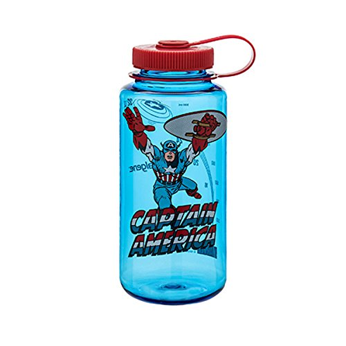 Nalgene Marvel 32oz Wide Mouth BPA-Free Water Bottle
