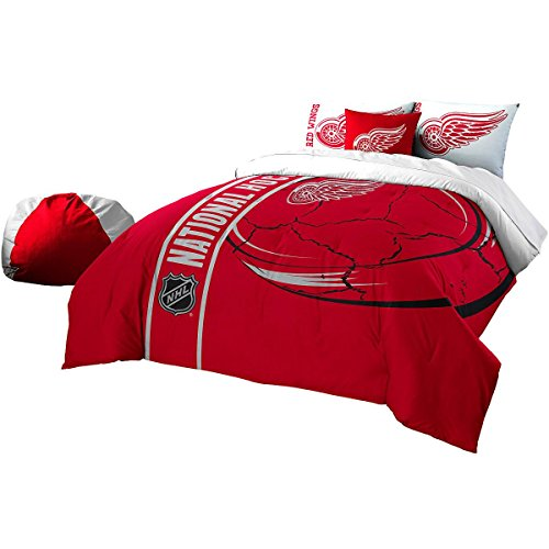 Northwest Detroit Red Wings NHL Super Soft Comforter (Detroit Red Wings Sham)