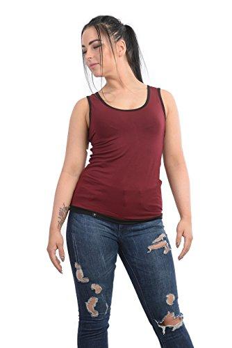 de de borde mujer camisa 3elfen 0H46q