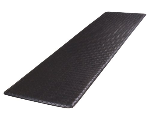 "GelPro Classic Anti-Fatigue Kitchen Comfort Chef Floor Mat, 20x72"", Basketweave Black Stain Resistant Surface with ½"" gel core for health & wellness by GelPro (Image #7)'"