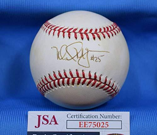 MARK MCGWIRE JSA Autograph American League OAL Hand Signed BasebaLL