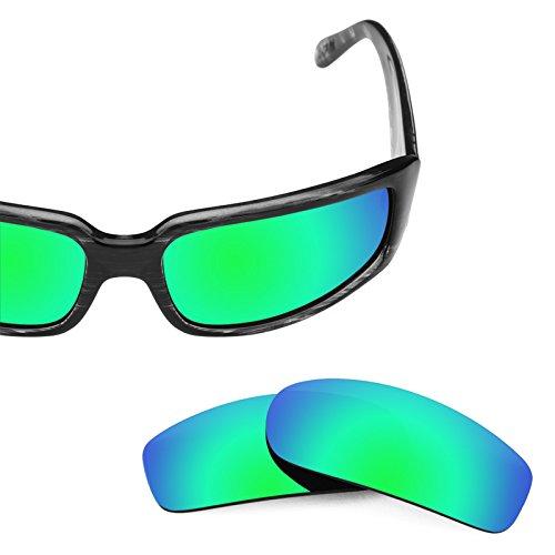repuesto múltiples Esmeralda Von Sham para Opciones Verde Polarizados Revant Zipper Lentes Mirrorshield de — z6PqxEg