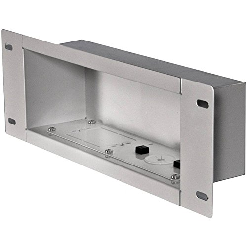 Medium In Wall Box - PEERLESS-AV IBA3-W In-Wall Metal Box with Knockout (Medium) - FIVE YEARS Warranty