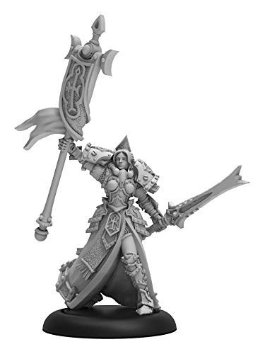 Warmachine: Protectorate of Menoth High Exemplar Cyrenia Warcaster (Resin and White Metal) [並行輸入品] B07SDB89CX