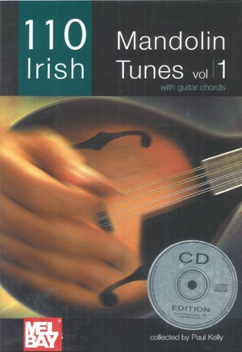 110 Irish Mandolin Tunes V01 by Paul Kelly (2-Oct-2007) Paperback