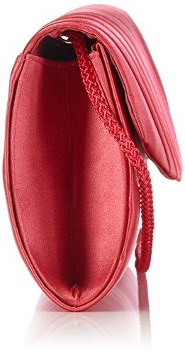 Rojo 35 coral Paco De Mujer Cartera Menabasic Mano nY00Xxv8