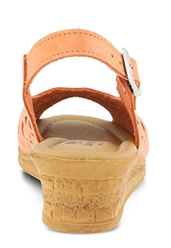 Spring Stap Vrouwen Orella Slingback Sandal2 Perzik