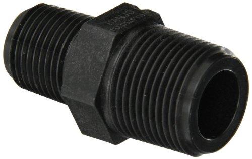 Banjo RN075-050 Polypropylene Pipe Fitting, Reducing Nipple, Schedule 80, 3/4 NPT Male x 1/2 Length