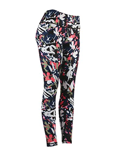 DOVPOD Printed Yoga Pants High Waist Workout Leggings with Hidden Pocket Tommy Control Capris for Women – DiZiSports Store
