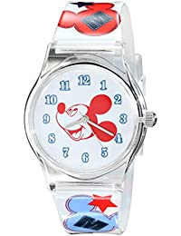 Kids' W001963 Mickey Mouse Analog Multi-Color Watch