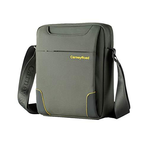 Sac Hommes Shoulder Crossbody D'épaule fonction Mecec Multi Tablette Besace Business Vert Grand Fashion Bags Canevas Loisirs 4qwEXxYFRE