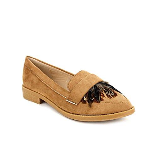 Chaussures H Studio Femme Cendriyon Simili Derbies Peau Caramel tIqwwaXz
