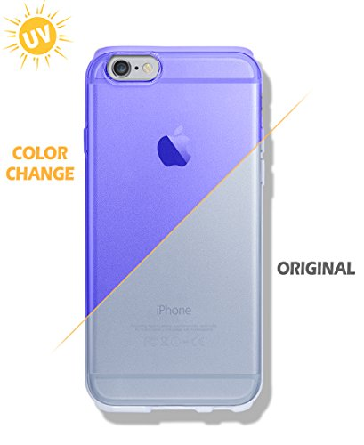 iPhone 6S / 6 Case [Color Changeable Case under Sunshine] [Expressing 2 different mood] Extra Side Protect [ TPU ] Dotted Back Cover For Apple iPhone6 / iPhone6S (Popcorn Boxes Canada)