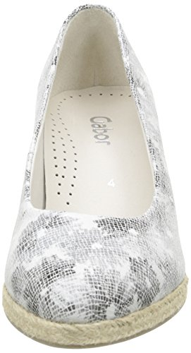 GaborGabor con Argento Tacco Zilber Argent Donna Scarpe xn0xr8aqwH