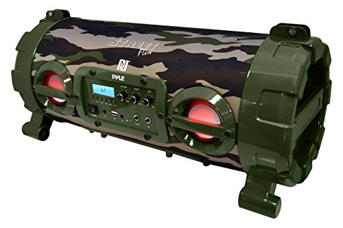 Pyle Bluetooth Rechargeable Camouflage PBMSPG120CM