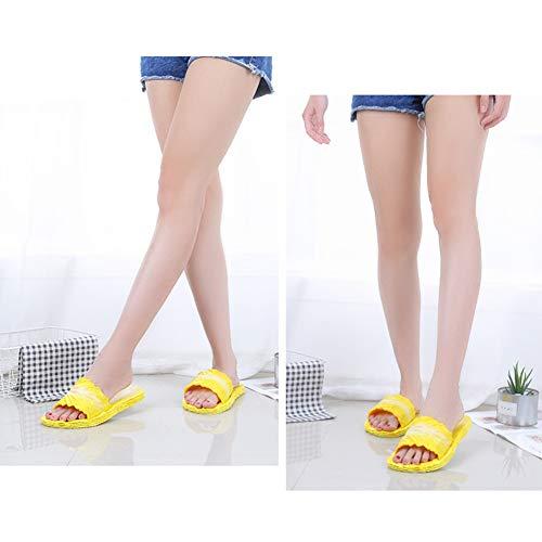 Chaussures Jaune Douche sandales Piscine Slide De Fille Femme Maison Bain Plage Enfant Pantoufles 4p6qf