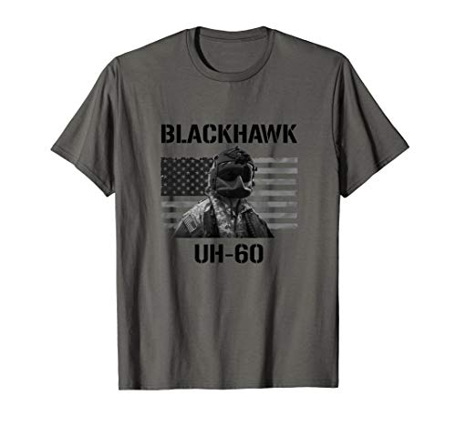 Helicopter Pilot Helm Blackhawk UH-60 Military Army Shirt T-Shirt