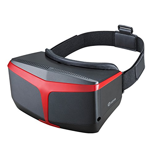 UCVR 3D VR Glasses Virtual Reality Headset Box-Newest Eyesight Protection Design with Black Color by USBDD
