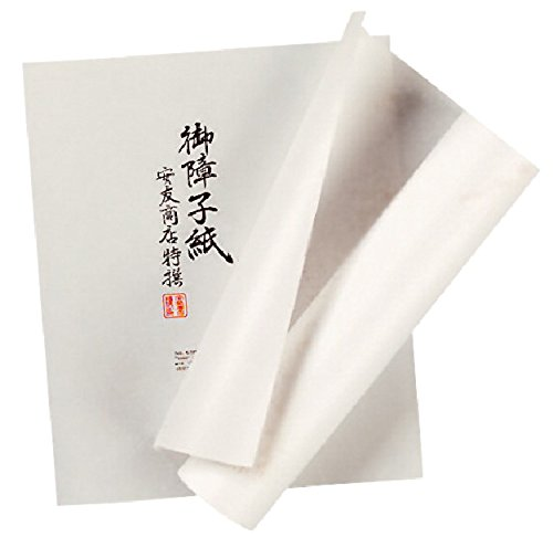 Rice Paper Roll - Yasutomo Acid-Free Rice Paper Roll, 11 in X 60 ft, White - 411247
