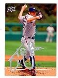 John Lannan autographed baseball card (Washington Nationals) 2008 Upper Deck #163 Silver Pen - MLB Autographed Baseball Cards