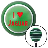 American Shifter 123654 Green Stripe Shift Knob with M16 x 1.5 Insert (Red I <3 JAGUAR)