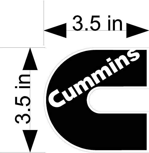 (Cummins Logo car & Truck Vehicle/Window Decals/Stickers)