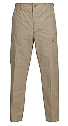 Propper Genuine Gear Ripstop BDU Pants (Khaki - Khaki Pants Ripstop Cotton Bdu