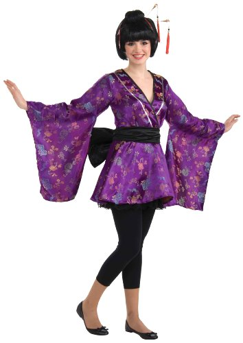 Forum Novelties Women's Teenz Fortune Cookie Costume, Purple, Teen - Teen Tea Party Hostess Costumes