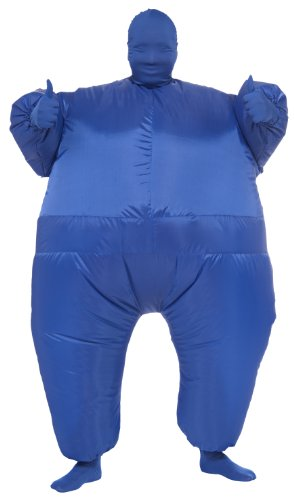 Rubie's Costume Inflatable Full Body Suit Costume, Blue, One Size (Inflatable Halloween Costume)