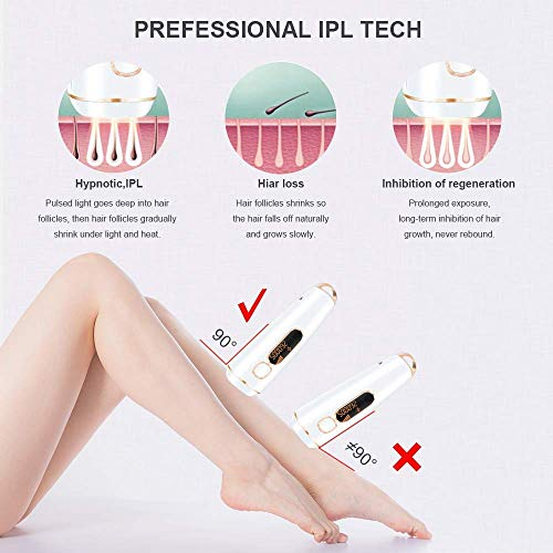 Hair Removal for Women and Man Hair Removal Permanent Facial Body Profesional Hair Remover Device