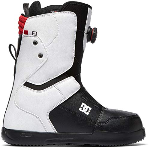 DC Scout BOA Snowboard Boots White Mens Sz 10