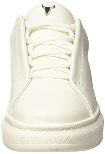Windsor Smith Halie, Sneaker a Collo Alto Donna bianco