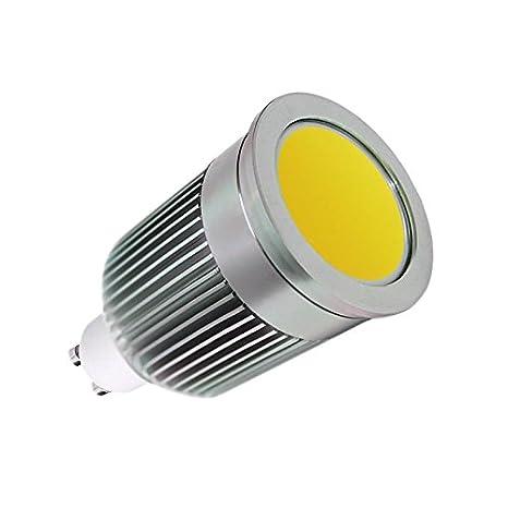 Ledbox LD1031066 - Bombilla LED, GU10, COB, 9 W, 120º, color blanco frío: Amazon.es: Iluminación