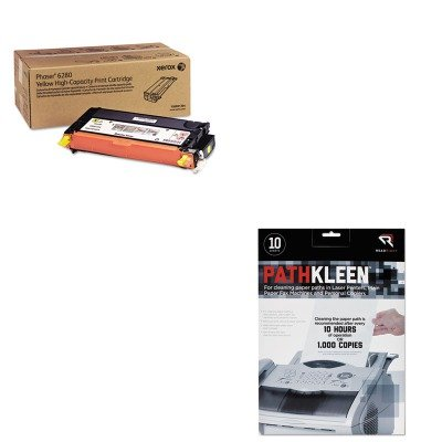 KITREARR1237XER106R01394 - Value Kit - Xerox 106R01394 High-Yield Tone (XER106R01394) and Read Right PathKleen Printer Roller Cleaner Sheets (REARR1237)