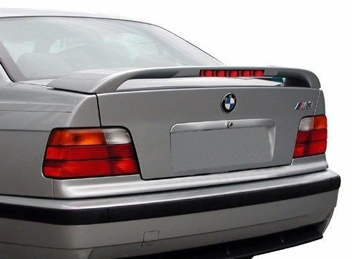 JSP Painted Rear Wing Spoiler Compatible with 1997-2003 BMW 5 Series 430 Ox for Ford Green Metallic Custom Style with LED 339020