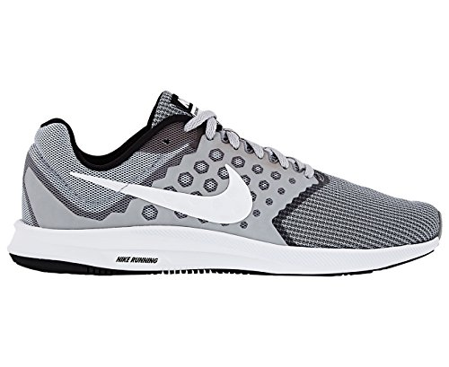 e0fcd5bca89c Galleon - Nike Men s Downshifter 7 Running Shoe Wolf Grey White Black Size  13 M US