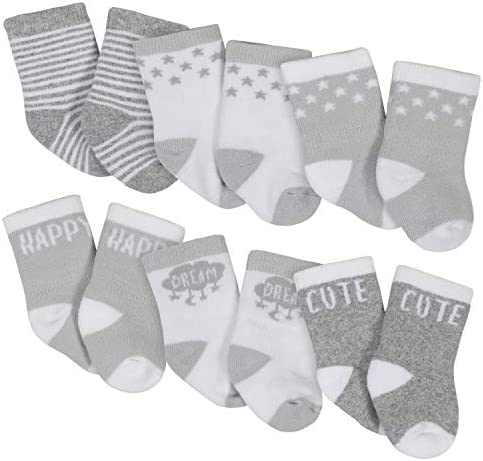 Unknown unisex child 6-pair Wiggle Proof Casual Sock