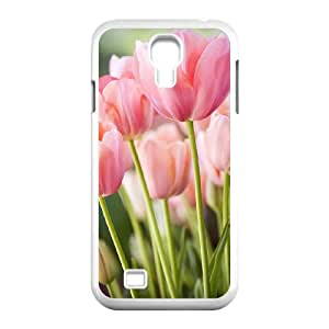 DIYYuli(RM) Brand New Customized The Pink Flowers Hard Cover Case for SamSung Galaxy S4 I9500 - KkUi141515