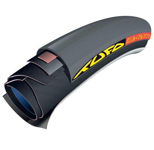 Tufo 650cx21 S3 Lite 200 Tubular Tire (Black) (Tufo Valve)