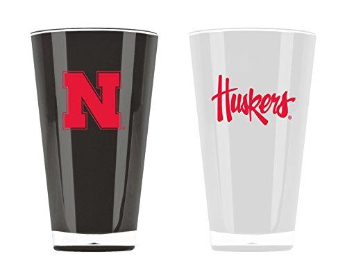 - NCAA Nebraska Cornhuskers 20oz Insulated Acrylic Tumbler Set of 2