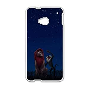 Disney The Lion King Character Rafiki HTC One M7 Cell Phone Case White Customized Toy pxf005_9704933