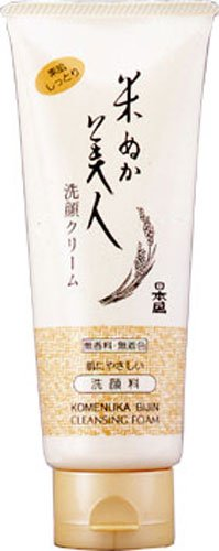 Komenuka Bijin NS-K All-Natural Facial Cleansing Foam with Rice Bran - 100g